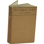 1928 Pictorial Golf Reprinted Book by H.B. Martin Sourced From Bert Yancey