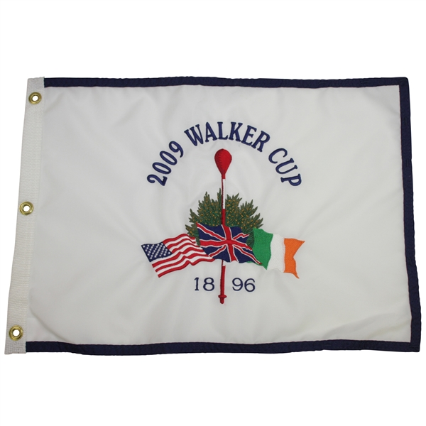 2009 Walker Cup at Merion Golf Club '1896' Embroidered Flag