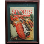 Sports Illustrated Second Weekly Issue - August 23, 1954 - Framed