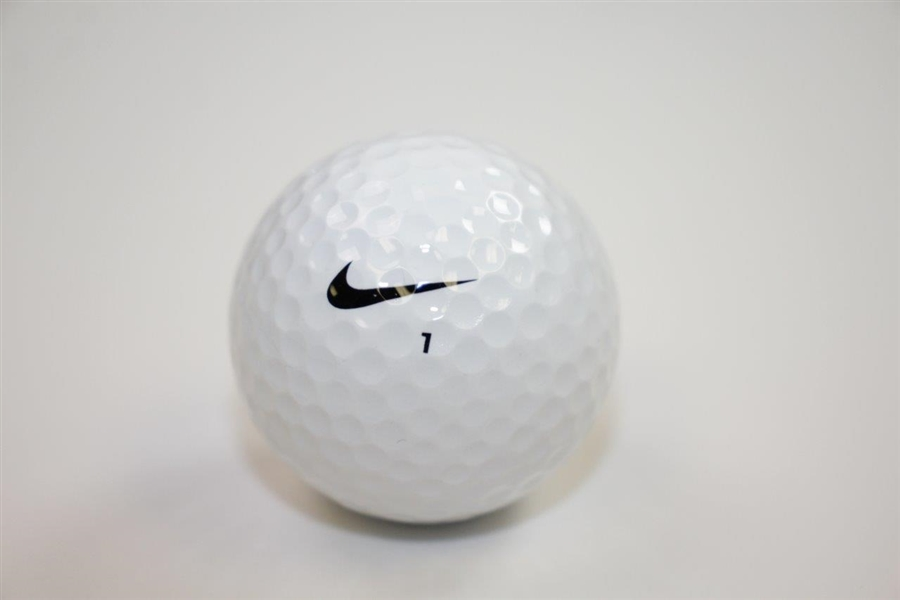 John Daly Signed Nike 1 Logo Golf Ball JSA ALOA