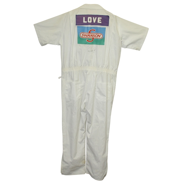 David Love III Signed Official 1992 Swanson Memorial Tournament Caddy Suit JSA ALOA