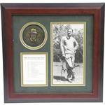 Byron Nelson Signed The Unforgettable Year with Medallion, Year in Review, & Signed Photo JSA ALOA