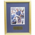 John Daly Signed Early 1990s 8x10 Photo - Framed JSA ALOA