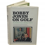 1966 1st Edition Bobby Jones on Golf Book with Foreword by Charles Price