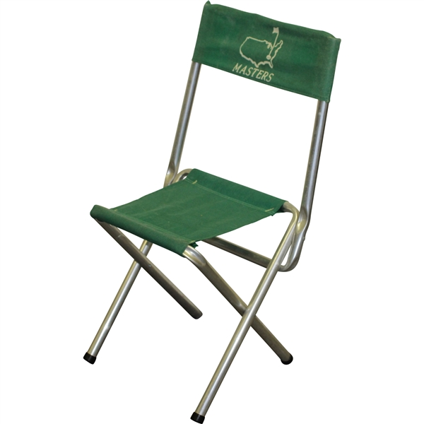 Vintage Masters Tournament Aluminum Green Fold Up/Out Chair