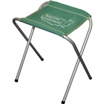 Vintage Masters Tournament Aluminum No Back Green Fold Up/Out Chair