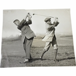 Original Photos Cut & Combined - Post-Swing - Victor Forbin Collection