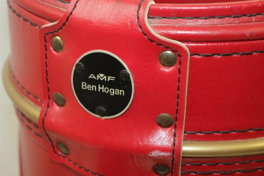 Ben Hogan Co. Red/White/Blue Den Caddy Golf Bag