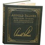 Arnold Palmer Signed Leather Collectors Edition Arnold Palmer: Memories, Stories, & Memorabilia JSA ALOA