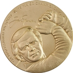 Jack Nicklaus Commemorative 2014 Act of Congress US Mint Medallion in Original Case - 3""