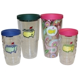 Family Set Of Masters Tervis Tumblers - Two 24 oz. Tumblers & Two 10 oz. Tumblers