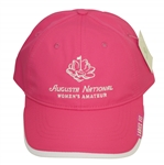 Augusta National Womens Amateur Pink Hat w/ Tags - Kupcho Win