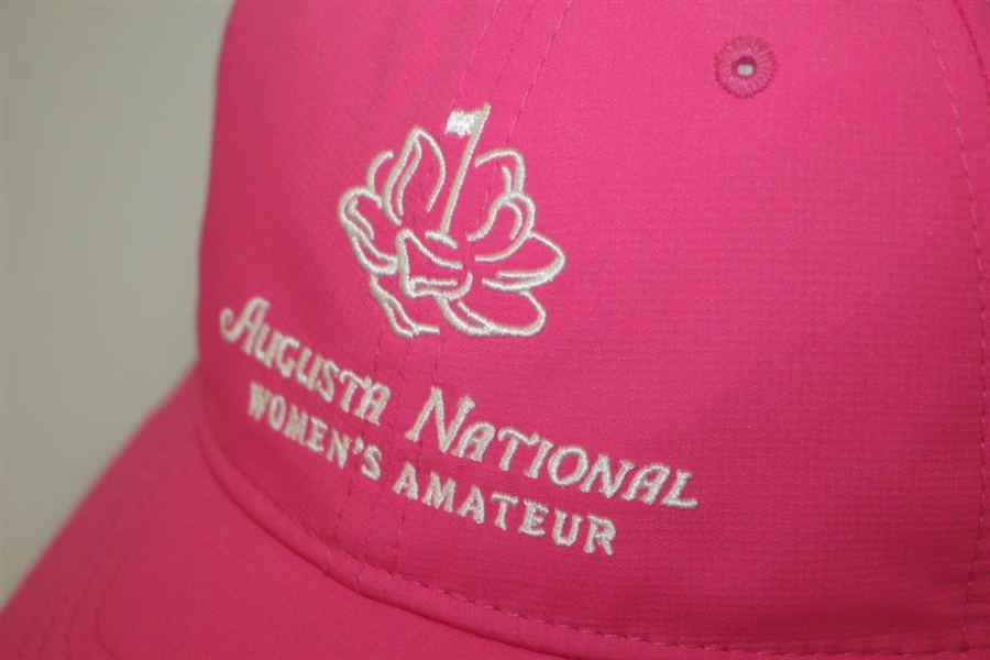 Augusta National Women's Amateur Pink Hat w/ Tags - Kupcho Win