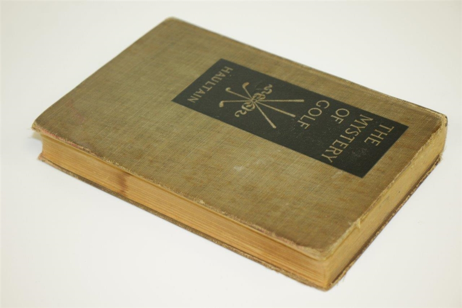 1912 'The Mystery of Golf' Book By Arnold Haultain 2nd Edition - A Literary Classic