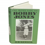 The Boys Life of Bobby Jones by O.B. Keeler Book 2002 Printing w/ Dust Jacket
