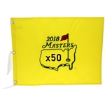Fifty 2018 Masters Tournament Official Embroidered Flags (50)