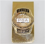 1975 PGA Seniors Lincoln-Mercury Championship Contestant Badge - Rod Munday Collection