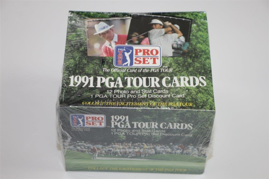 1991 PGA Tour Pro-Set Unopened Cards - Bobby Wadkins Collection