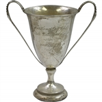 1906 State Championship at Portland Golf Club 2nd Eight Loving Cup Trophy Won by A.P. Palmer