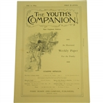 "Complete 1894 The Youths Companion with Original Sears Article ""The Game of Golf, Sports Little Known in America"""