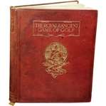 1912 The Royal & Ancient Game of Golf Ltd Ed #69 Book by Harold H. Hilton & Garden G. Smith