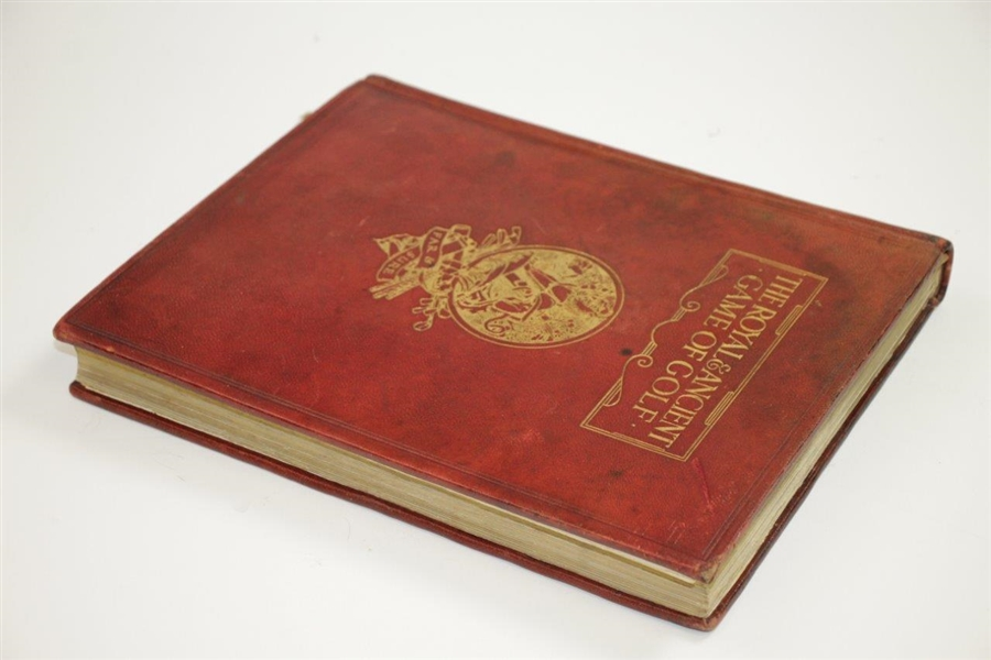 1912 'The Royal & Ancient Game of Golf' Ltd Ed #69 Book by Harold H. Hilton & Garden G. Smith