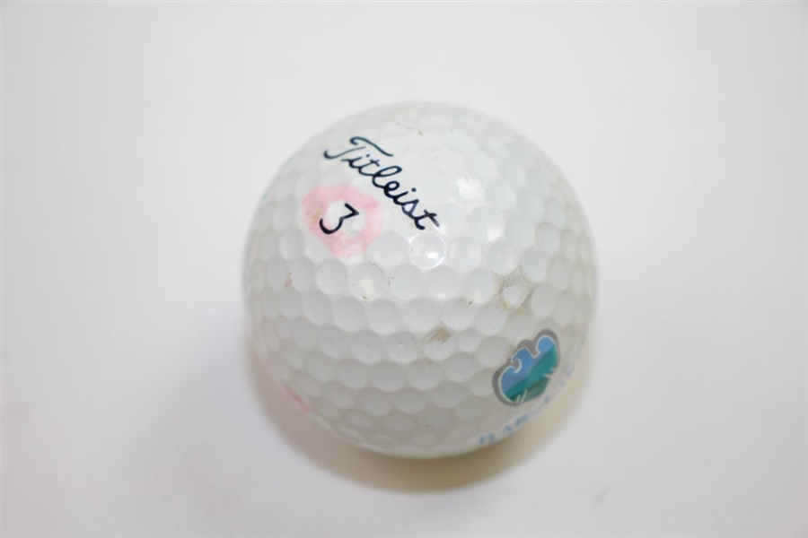 Padraig Harrington Signed Barclays Classic at Westchester CC Logo Golf Ball JSA ALOA