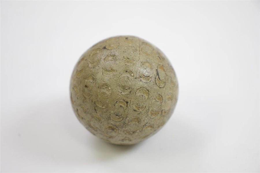 Crescent Colonel Half Moon Pattern Golf Ball- PAT. 1902