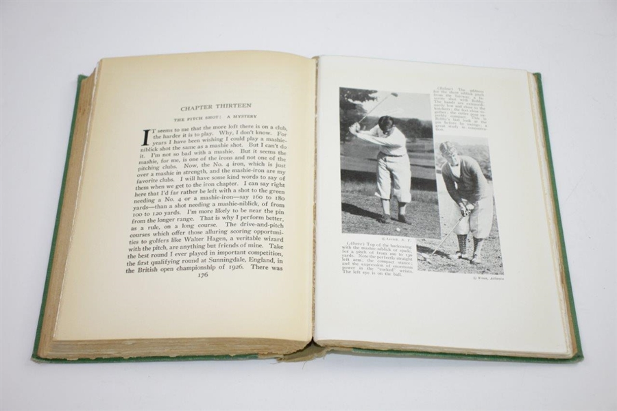 1927 'Down the Fairway' Book by Bobby Jones & O.B. Keeler