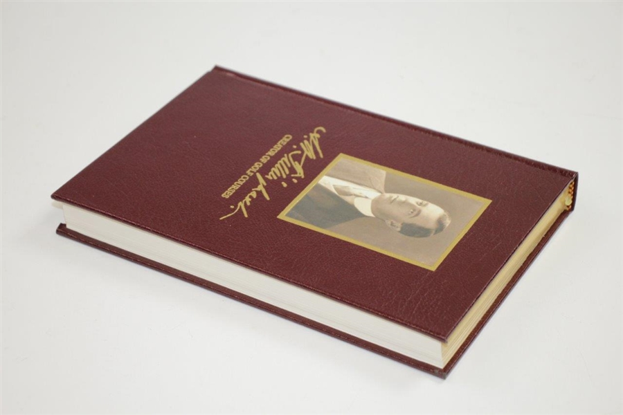 Ltd Ed 'Tillinghast: Creator of Golf Courses' Deluxe Book #439 Signed by Philip Young with Slipcase