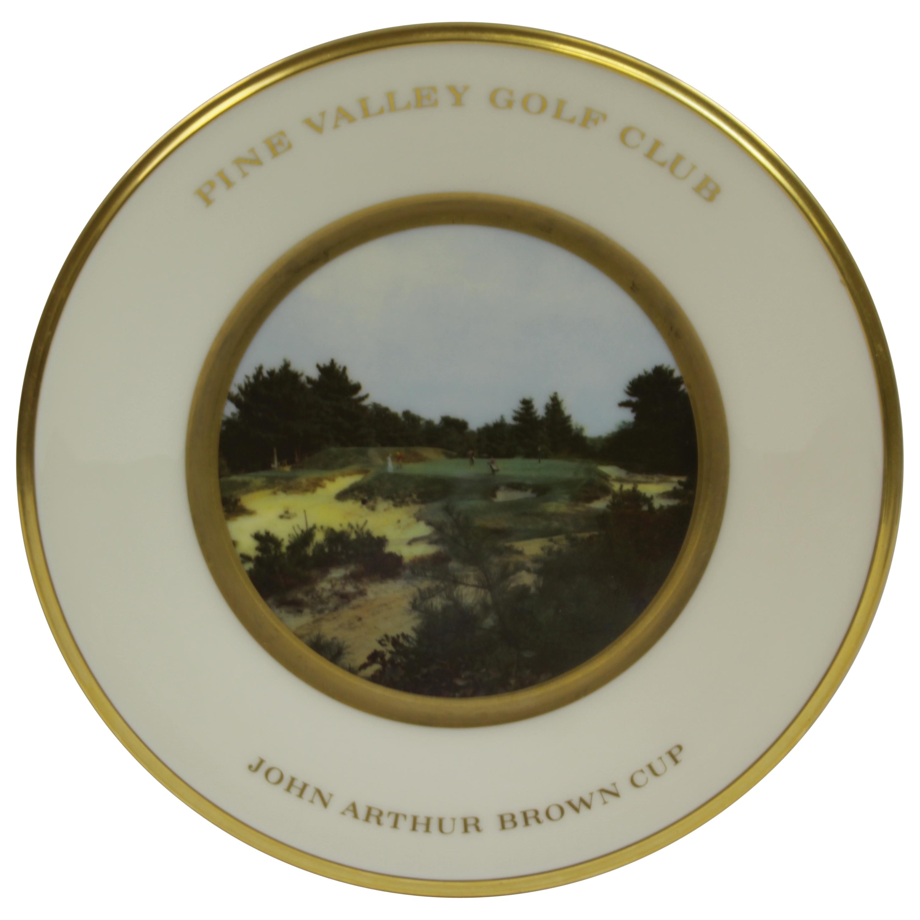 Lot Detail - Pine Valley Golf Club John Arthur Brown ...