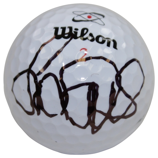 Laura Davies Signed Wilson Logo Golf Ball JSA ALOA