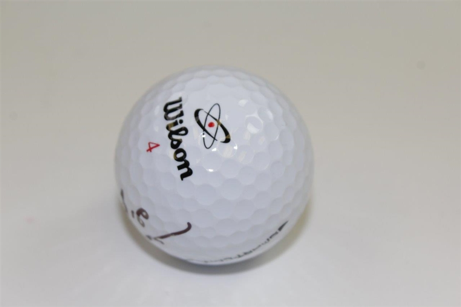 Sei Re Pak Signed Wilson Logo Golf Ball JSA ALOA
