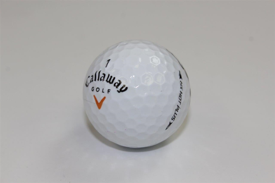 Y E Yang Signed 2009 PGA Championship at Hazeltine Logo Golf Ball JSA ALOA