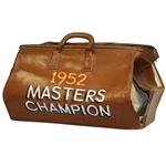 Sam Sneads 1952 Masters Champion - Sammy Snead Professional Leather Bag