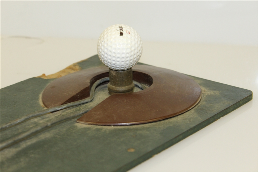 Spalding Vintage Mechanical Golf Driving Range Tee Device - Works