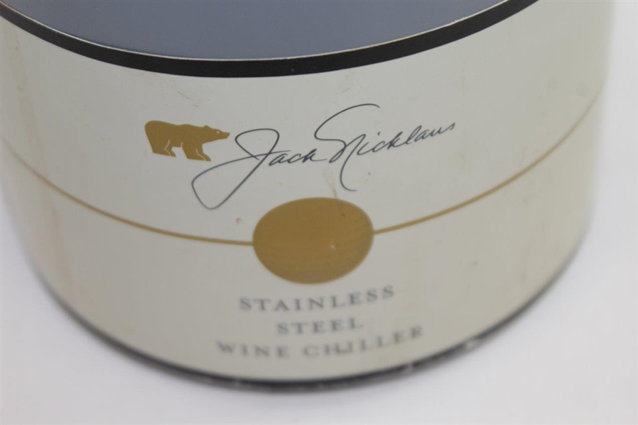 Jack Nicklaus Stainless Steel Wine Chiller - Good Condition