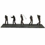 Jack Nicklaus PGA Swing Sequence Sculpture - One Figure Missing Club