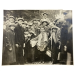 "Francis Ouimet Signed & Inscribed Photo ""Boy Who Won the 1913 Open"" to His Caddie Eddie Lowery JSA FULL #BB65217"