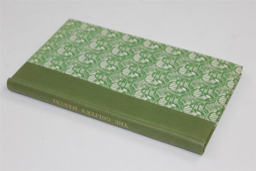 1947 Ltd Ed 'The Golfer's Manual' Book 426/750 - Reprinted 1857 'A Keen Hand'