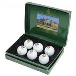 2001 The OPEN Championship at Royal Lytham & St. Annes Commemorative Golf Ball Set in Box