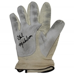 Phil Mickelson Early 1990s Signed Used Etonic RH Golf Glove JSA FULL #X18972