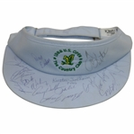 Multi-Signed 1988 US Open ay The Country Club Visor Including Kite, Solheim, Crenshaw, & others JSA ALOA