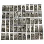 Full Complete Set of 1927 Churchmans Golfers Cigarette Cards - Fifty (50) - Great Condition