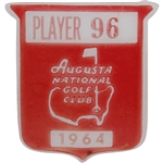 1964 Masters Tournament Contestant Badge #96 - Billy Maxwell