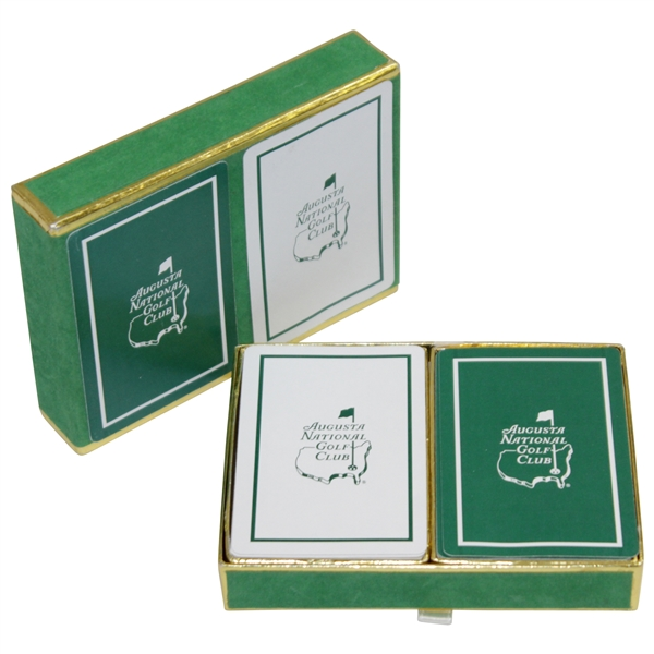 Classic Augusta National Golf Club Member Playing Cards in Original Box