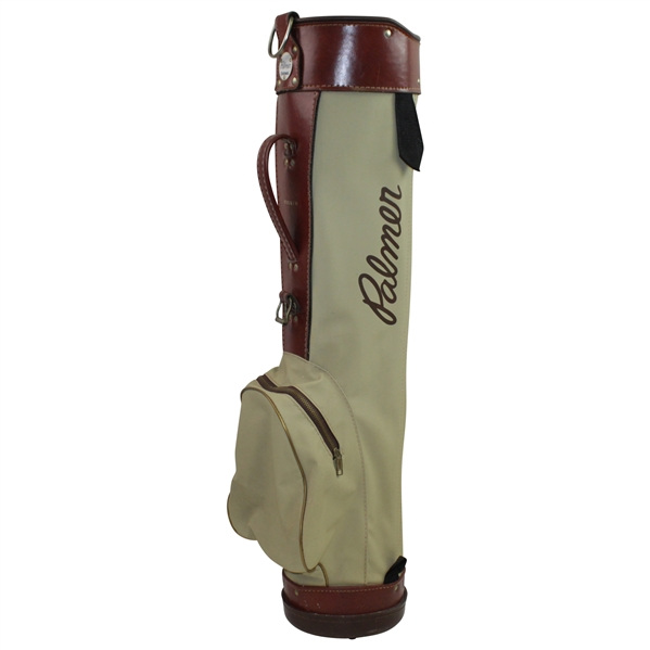 Classic Arnold Palmer Pro-Group Inc. Tan/Brown Golf Bag - 87102 K1M