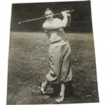 Circa Late 1920s Horton Smith Post-Swing Pose Photo by Keystone View Co.