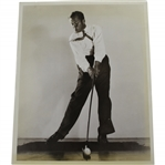 Bobby Jones Personal High-Speed A.G. Spalding & Bros Photo - Richard Gordin Letter