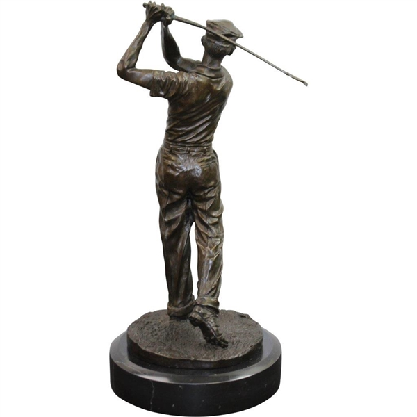 Ben Hogan Bronze/Marble Statue by Ron Tunison - Stands Over a Foot Tall - 13.5lbs!